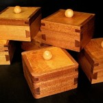 Handcut Dovetail Boxes