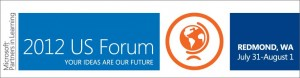 Microsoft Partners in Learning 2012 US Forum logo