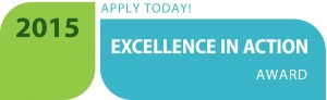 Excellence in Action award banner