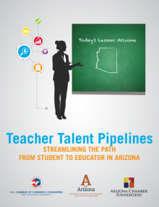 teacher talent pipelines